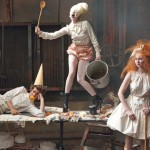 Lady Gaga Hansel Gretel Vogue US December 2009