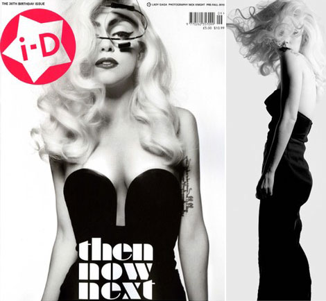 Lady Gaga i D pre fall 2010 cover