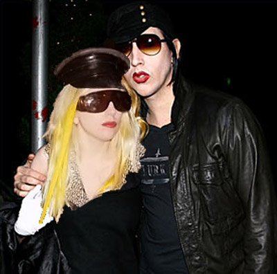 Lady Gaga Marilyn Manson