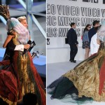 Lady Gaga McQueen dress MTV VMAs 2010