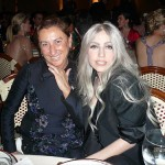 Lady Gaga Met Gala 2010 with Miuccia Prada