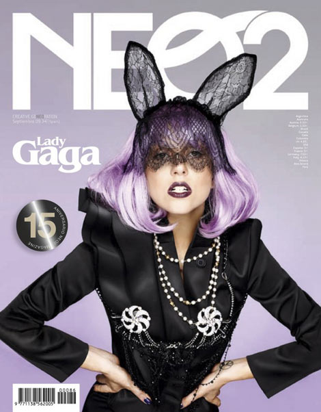 Lady Gaga Neo2 Magazine September 2009 cover