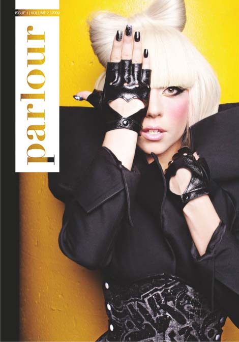 Lady GaGa In Parlour Magazine