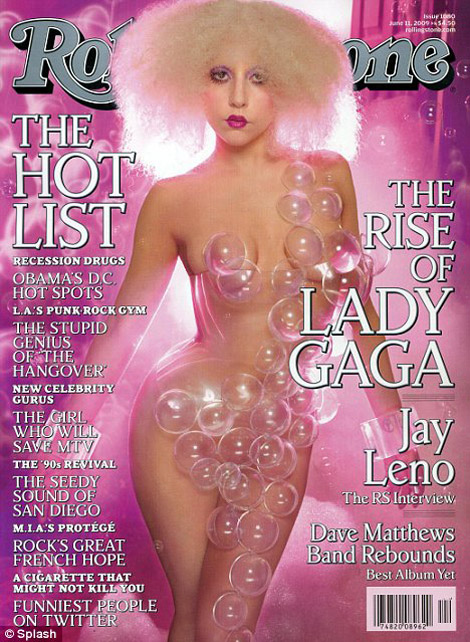 Rolling Stone Covers Lady GaGa In June 2009