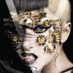 Lady Gaga V Magazine Asian Issue jewelry face