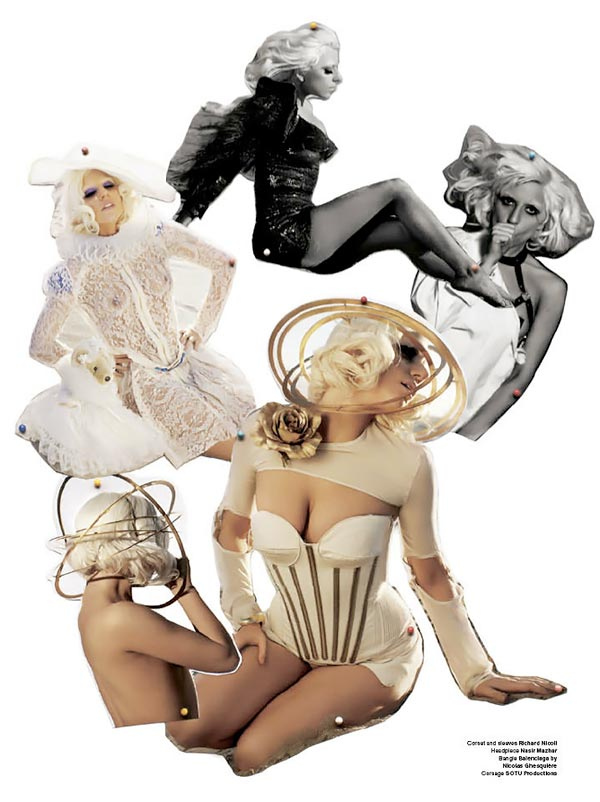 Lady Gaga V Magazine July August 2009 3
