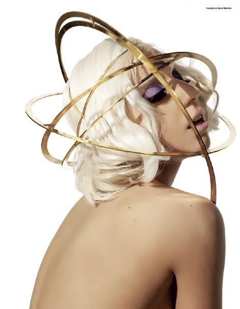 Lady Gaga V Magazine July August 2009