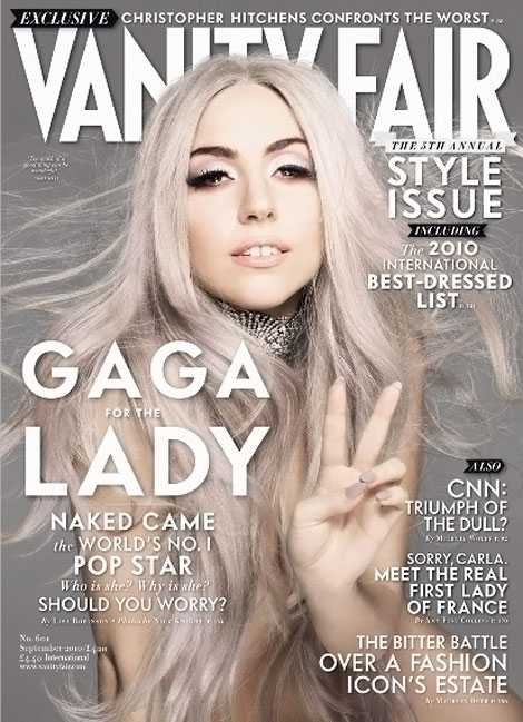 So This Is Lady Gaga's Vanity Fair September 2010?