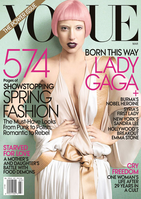 Lady Gaga Vogue Cover. Lady Gaga Vogue March 2011