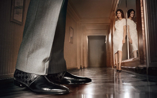 Laetitia Casta for Louis Vuitton Fall Winter 2009 ad campaign