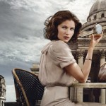 Laetitia Casta Louis Vuitton Fall Winter 2009 ad campaign