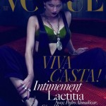 Laetitia Casta Vogue Paris dec jan 09 10 cover