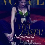 Laetitia Casta Vogue Paris dec jan 09 10 cover large