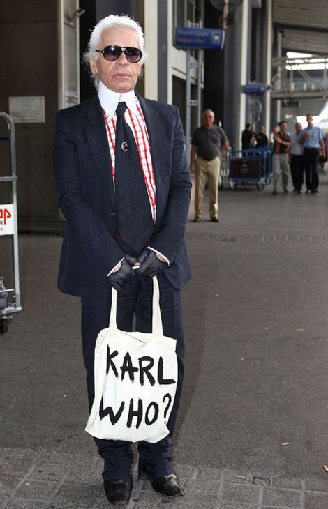 The New It Bag: Karl, Who?