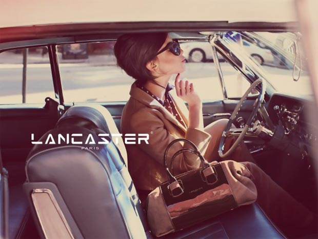 Lancaster Fall 2013 ad campaign Daisy Lowe