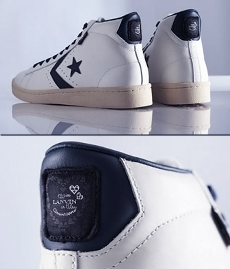 Lanvin en Bleu 76 Leather Converse sneakers
