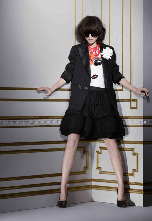 Lanvin H M winter 2010 collection 7