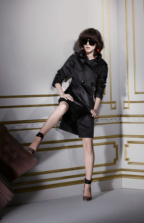 Lanvin H M winter 2010 collection black trench