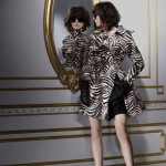 Lanvin H M winter 2010 collection zebra coat