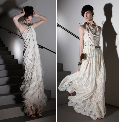 Lanvin Summer Resort 2012 white