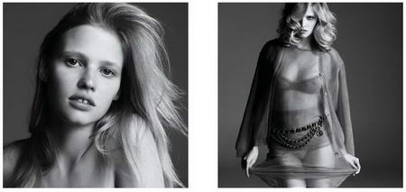 Lara Stone Before and After