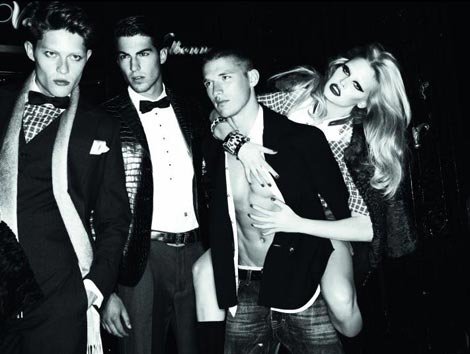 Lara Stone Dsquared2 fall 2009 ad 1