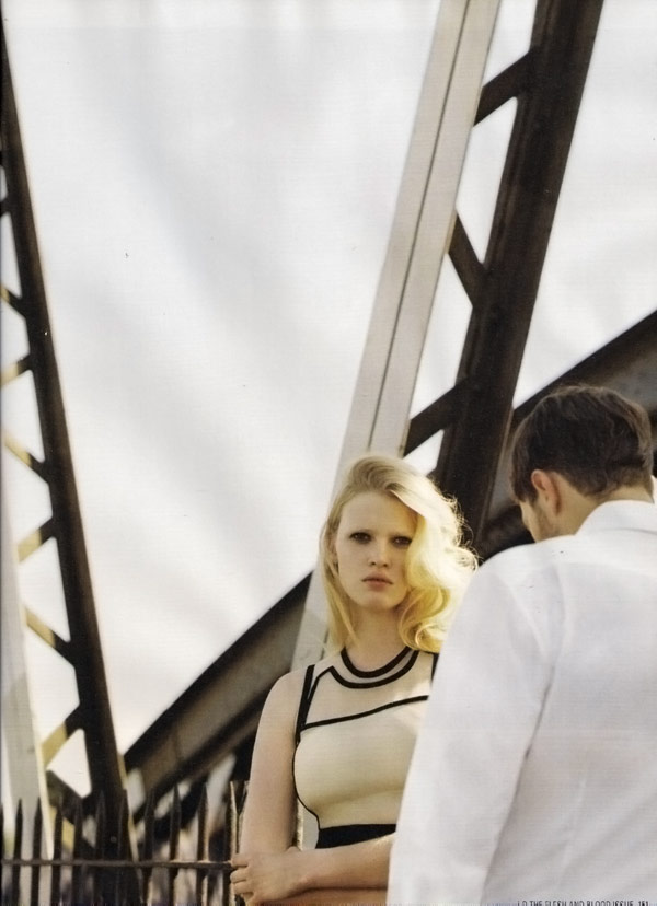 Lara Stone iD Magazine Winter 2009 1