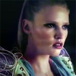 Lara Stone In Music Video With Terence Stamp: Hot Chip Night & Day