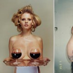 Lara Stone tattoo inspired by i D Spring 2013 pictorial