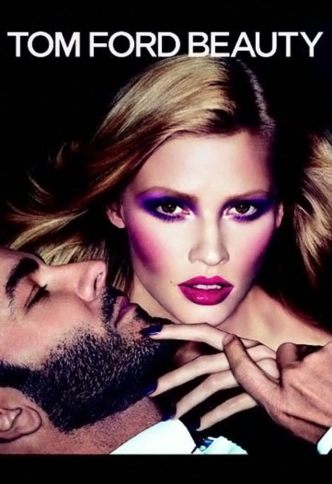 Lara Stone Tom Ford Beauty ad