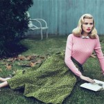 Lara Stone Vogue US September 2010 1