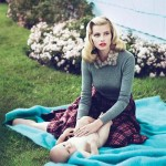 Lara Stone Vogue US September 2010 3