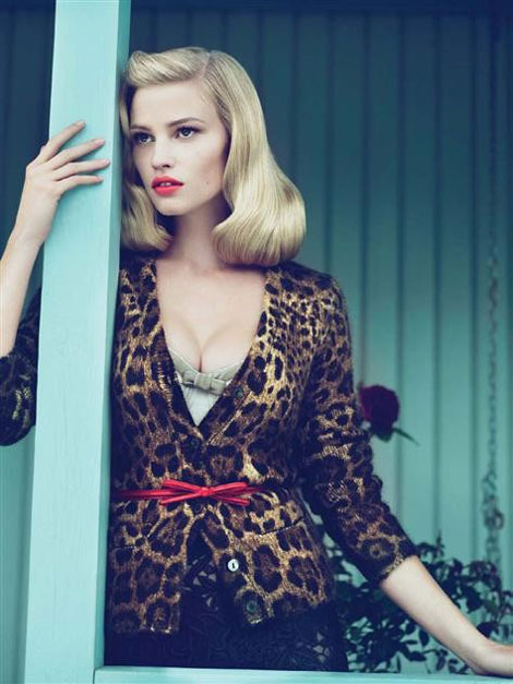 Lara Stone Vogue US September 2010