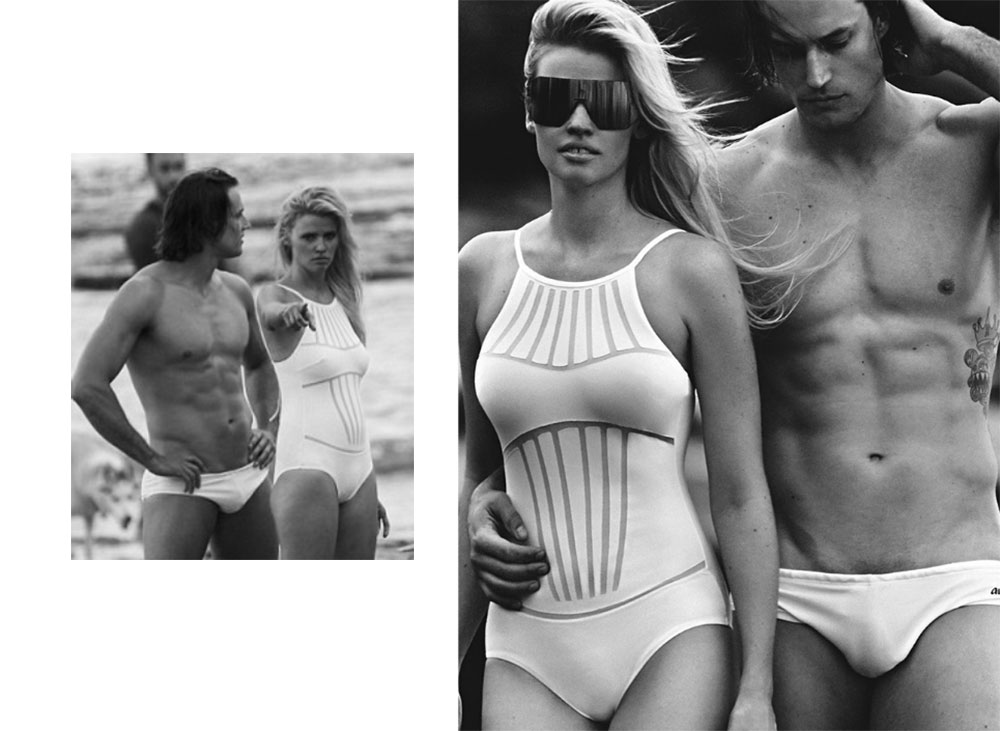 Photoshoot Reality Vs Vogue Reality Lara Stone Beach Body
