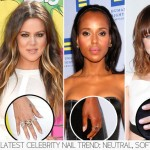 Latest nail polish trends neutral soft pink nails