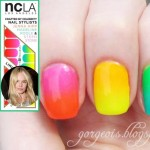 latest nails trends Gradient Rainbow nails vs NCLA nail wraps