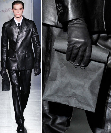 latest trends in men bags Jil Sander