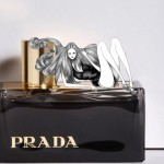 Laura Laine Elle Russia March 2010 drawings Prada perfume