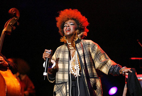 Lauryn Hill present