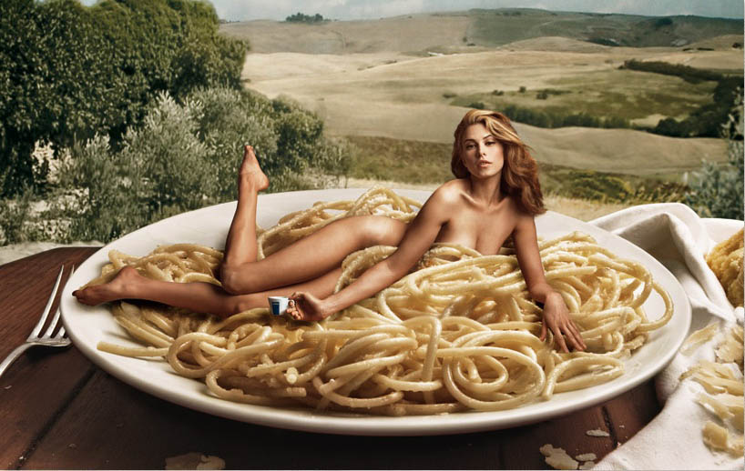Lavazza Calendar 2008 Pasta and Landscapes