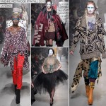 layering Fall 2013 Vivienne Westwood collection