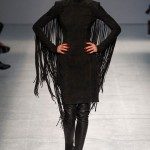 leather fringes Gareth Pugh Spring Summer 2013