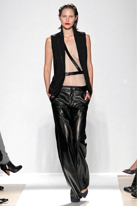 leather pants Barbara Bui Spring 2013