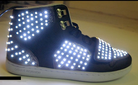 LED Sneakers Light Your Way