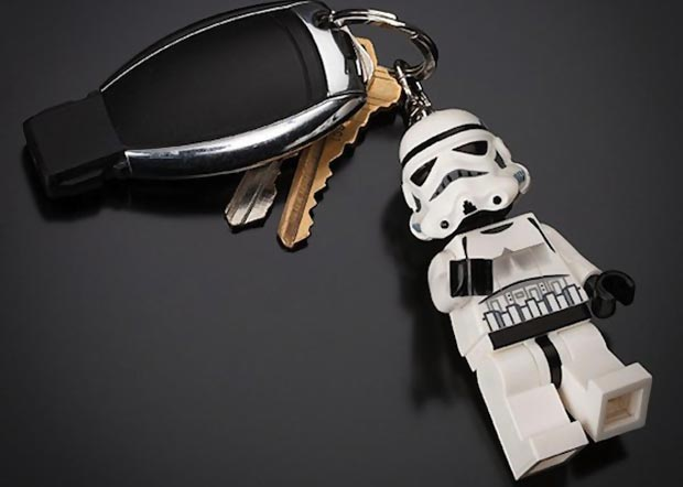 Lego Star Wars Keychain light