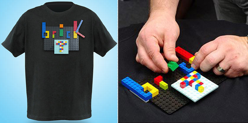 Get Creative With A Lego T-Shirt!