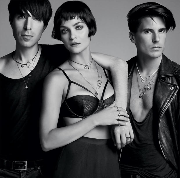 Leigh Lezark ad campaign Inez and Vinoodh TTT necklace