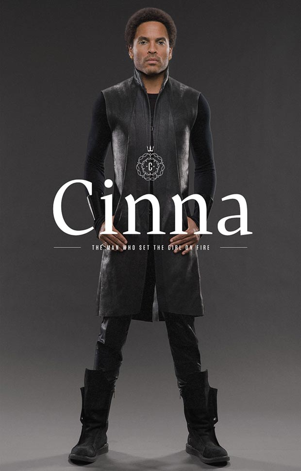 Lenny Kravitz as Cinna Hunger Games