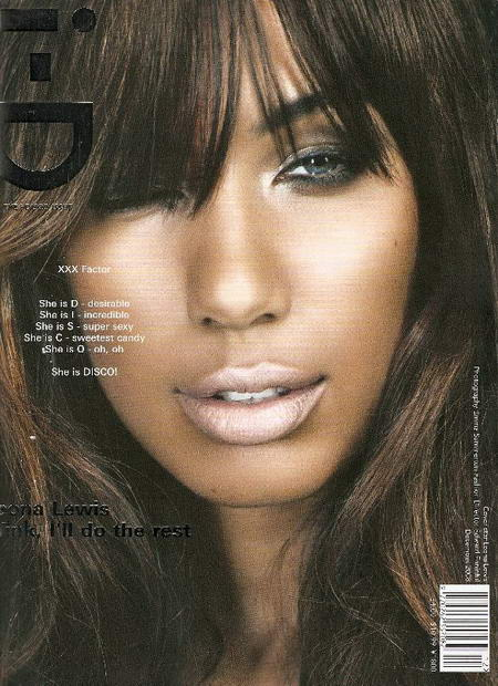 Leona Lewis I D Magazine cover December 2008