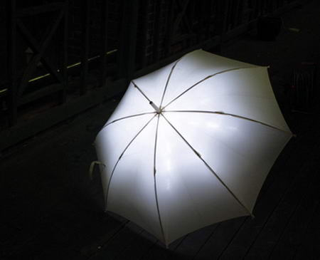 Lightdrops LED umbrella 2